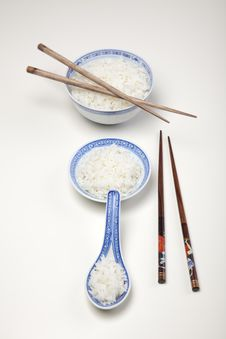 Free Rice In Bowl Royalty Free Stock Image - 10133296