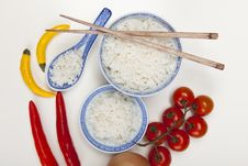 Free Rice In Bowl Stock Photography - 10133352