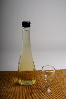 Free Bottle With Vinegar Royalty Free Stock Images - 10133369