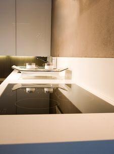 Free Kitchen Interior Stock Photography - 10133382