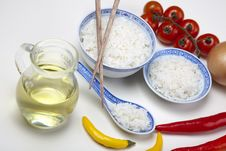Free Rice In Bowl Royalty Free Stock Images - 10133389