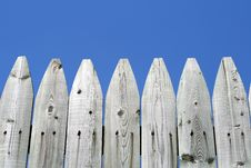 Free Wooden Fence Royalty Free Stock Photo - 10133445