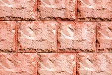 Free Texture Red Stucco Exterior Royalty Free Stock Images - 10133519