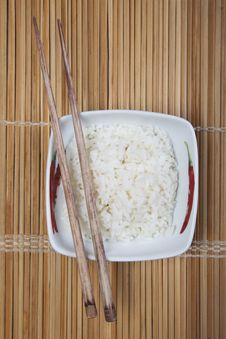 Free Rice In Bowl Stock Photos - 10133613