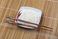 Free Rice In Bowl Royalty Free Stock Photography - 10133647
