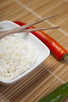 Free Rice In Bowl Stock Photography - 10133702