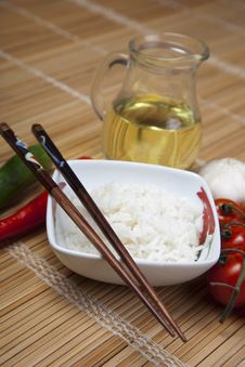 Free Rice In Bowl Royalty Free Stock Image - 10133796