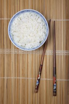 Free Rice In Bowl Stock Photo - 10133860
