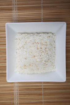 Free Rice In Bowl Royalty Free Stock Photo - 10133945