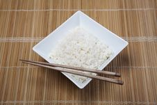 Free Rice In Bowl Royalty Free Stock Images - 10133999