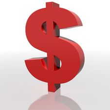 Free Dollar Sign Stock Image - 10134051