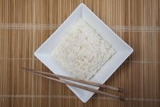 Free Rice In Bowl Royalty Free Stock Photos - 10134058