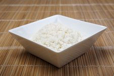 Free Rice In Bowl Royalty Free Stock Photo - 10134125