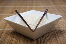 Free Rice In Bowl Stock Images - 10134154