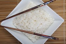 Free Rice In Bowl Royalty Free Stock Images - 10134179