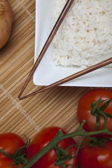 Free Rice In Bowl Royalty Free Stock Photography - 10134257