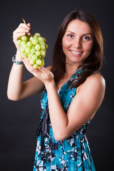 Free Grapes Stock Image - 10134361