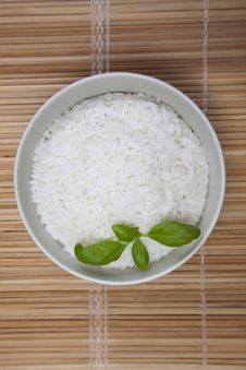 Free Rice In Bowl Stock Image - 10134491