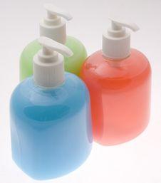 Free Soap Bottles Stock Photo - 10134520