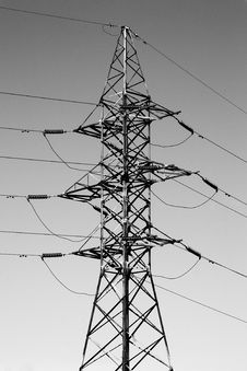 Free Pylon Royalty Free Stock Images - 10134659
