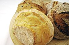 Free Breads On Tray Royalty Free Stock Photography - 10134937