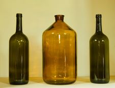 Free Glass Bottles Stock Photography - 10135862