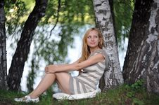 Free Young Woman Stock Photography - 10136202