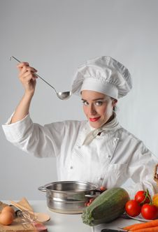 Free Chef Royalty Free Stock Photography - 10136417