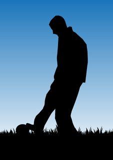 Free Football Player Stock Photos - 10136933