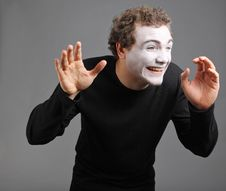 Free Portrait Of The Mime Stock Photo - 10137470