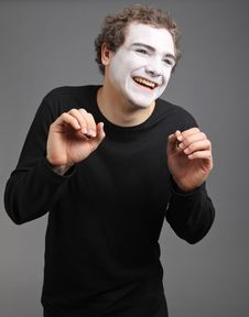 Free Portrait Of The Mime Stock Photos - 10137563