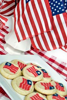 Patriotic Sweets Royalty Free Stock Images