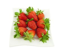 Ripe Strawberry Stock Photography