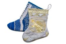 Free Christmas Boots For Presents Stock Image - 10137991