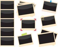 Free Polaroids Set Royalty Free Stock Image - 10138636