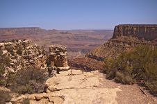 Free Moran Point - Grand Canyon Stock Photography - 10139052