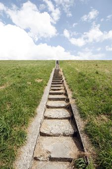 Free Stairway To Heaven Royalty Free Stock Images - 10139799
