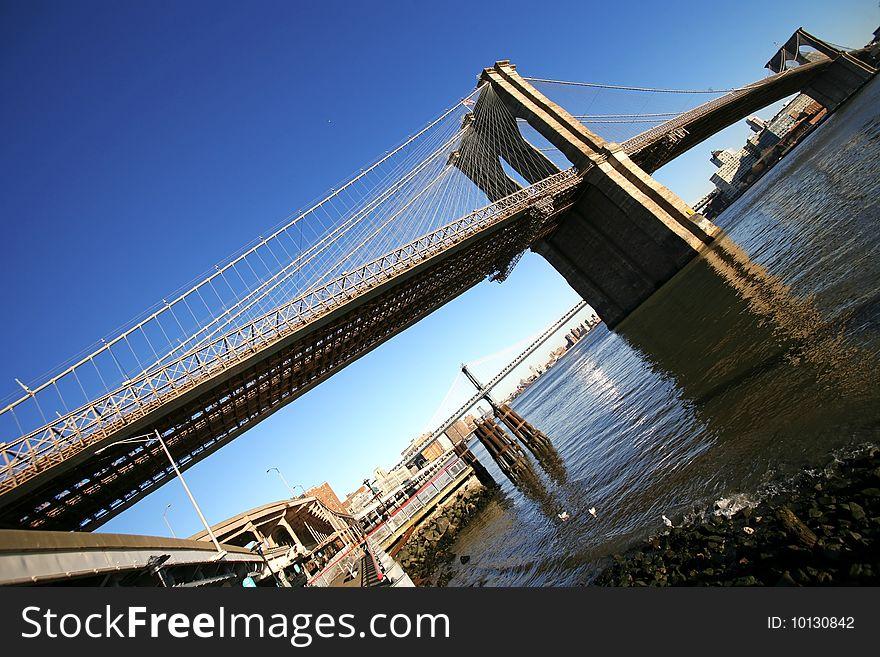 Classical NY -Brooklyn bridge