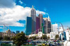 Free Las Vegas Skyline Stock Image - 101312631