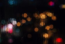 Free Rain Bokeh Royalty Free Stock Photo - 101313355