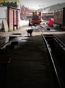 Free  Fenella  Steam Engine No. 8,  Fenella , Of The Isle Of Man Railways Stock Photos - 101318723
