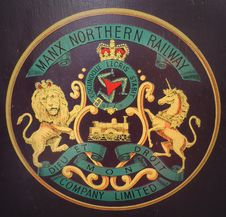 Free Manx Northern Railways - Crest On Former Carriage Royalty Free Stock Photography - 101319577