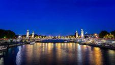 Free Pont Alexandre III, Paris Stock Photo - 101322120
