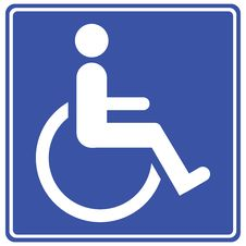 Free Disabled Sign Stock Photos - 101373023