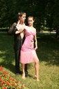 Free Flirting Couple Stock Photo - 10149680