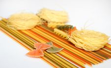 Free Spaghetti, Farfalle And Capellini Stock Image - 10140421