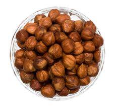 Free Many Hazelnuts Isolated Stock Images - 10140504