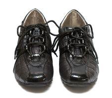 Shoe Isolated On White Background Royalty Free Stock Images
