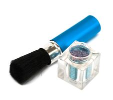 Free Blue Make-up Eyeshadows Stock Photo - 10140770