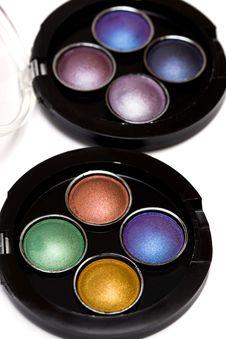 Make-up Eye-shadows Royalty Free Stock Image